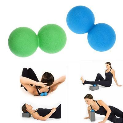 Double Lacrosse Ball Myofascial Trigger Point Stress Release Peanut Massager