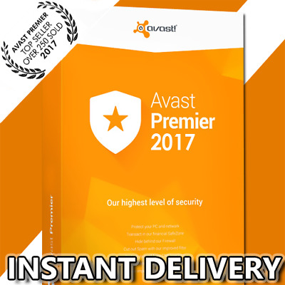 Avast Premier & Internet Security 2017 (3PC / ***3 YEARS+*** / License file)
