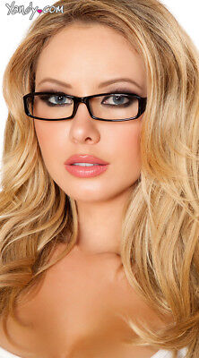 One Size Fits Most Womens Sexy Secretary Glasses, Sexy Costume Glasses