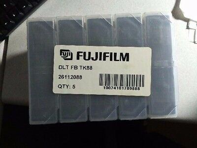 FUJIFILM DLT IV TAPE CARTRIDGES  40GB 80GB  5 count for DLT 8000 and DLT 1