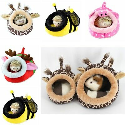 Hammock Small Animal Rat Hedgehog Squirrel House Guinea Pig Bed Nest Pad Cage