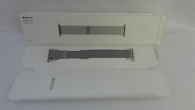 Genuine Apple Watch 38mm Milanese Loop Stainless Steel Magnetic Closure Original