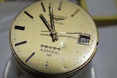 LONGINES CALIBER 505, RUNNING CONDITION Automatik werk Movement works (7)