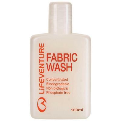 Lifeventure Fabric Wash 100Ml Camping Travel Gear One Colour