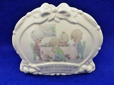 """Precious Moments LORD'S BLESSING Napkin Holder- God Bless Our Home- 4"""" x 5.25"""""""