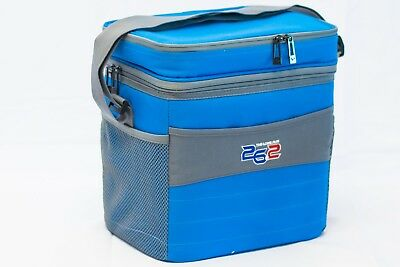 26.2 The Long Run 16 Can Softside Insulated Cooler Bag w/Removable Liner - BLUE