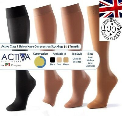 Activa Class 1 Compression Socks Bellow Knee Compression Hosiery   Select Size