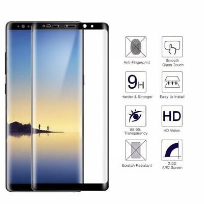 9H HD 5D Curved Full Coverage Tempered Glass Screen Protector For Samsung Note 8