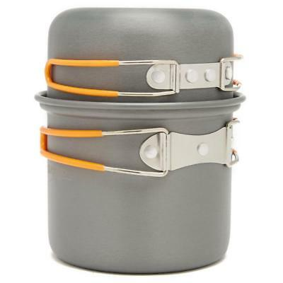 Vango Hard Anodised One Person Cook Kit Grey