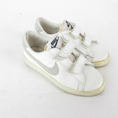 Vintage Nike Shoes Sneakers Kids Size 1 Made in Taiwan Double Strap