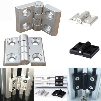 Aluminum T-slot Hinge Profile Accessories  4040 Series CNC 3D Cabinet door etc