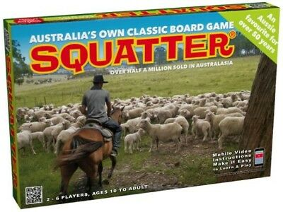 Squatter - Tabletop Board Game BRAND NEW