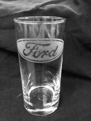FORD Etched Glasses