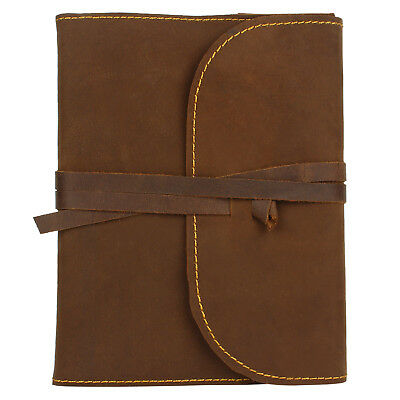 Refillable Handmade Antique Looking Leather Journal Diary Travel Notebook Unisex