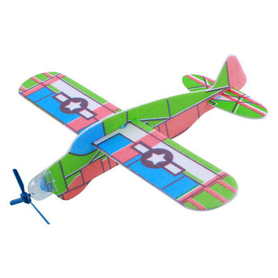3D Helicopter G3 Foam Airplanes Sky Raider Glider Child Kids Boy Cool Toy Gift