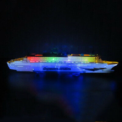 Electronic Ocean Liner Simulation Toys Flashing All Direction Whistle Music