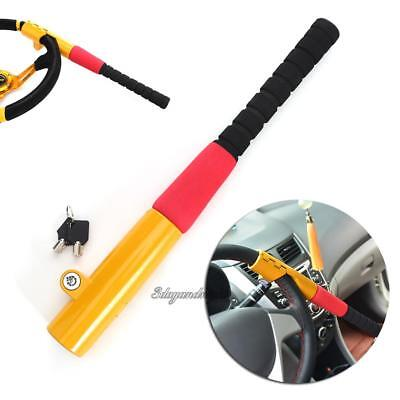 Universal Auto Car Anti-Theft Security Rotary Steering Wheel Lock Top Mount Club