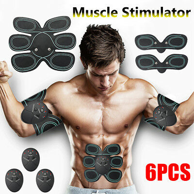 SET EMS-Bauchmuskel Muskeltrainer Gear Training Fit Body Exercise Shape Fitness