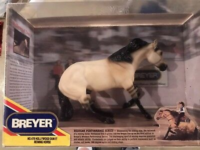 "1994 Breyer ""Hollywood Dun It"" Reining Horse No. 478 Western Performance NIB"