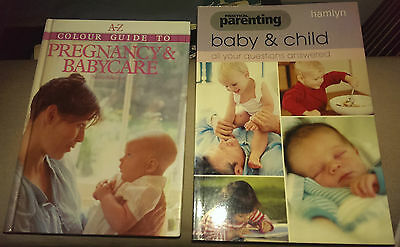 2 x Books - A-Z Guide Pregnancy & Babycare / Practical Parenting Baby & Child