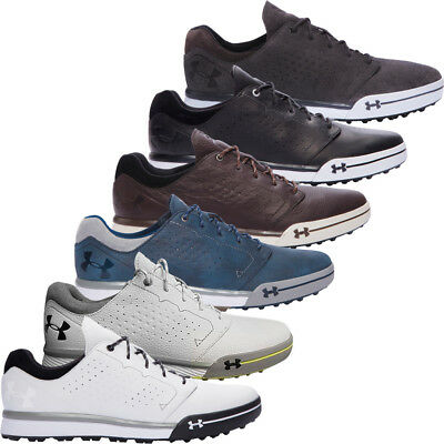 Under Armour 2017 UA Tempo Hybrid Water Resistant Spikeless Golf Shoes - Leather