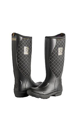 Noble Outfitters Muds Cold Front Womens Boots Black 8 R