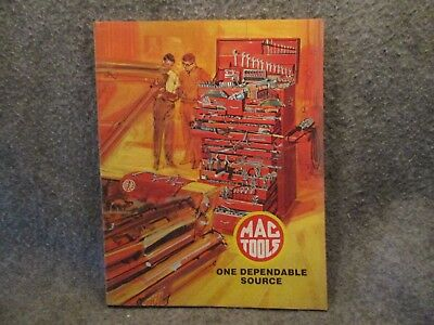 1976 Mac Tools Product List Guide Book Catalog MTA-375 One Dependable Source