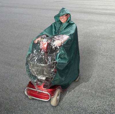 Deluxe Quality Mobility Scooter Rain Cape