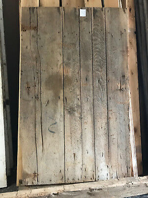 "Antique Barn Wood Door 74""x 40"""