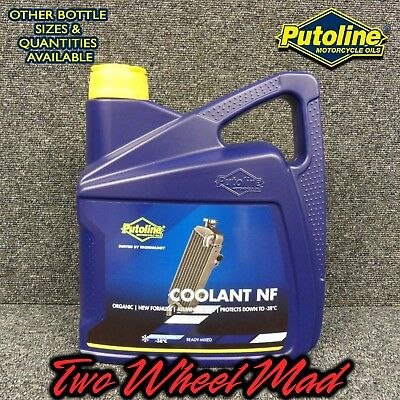 Putoline Coolant NF 1 x 4L bottles - Ready mixed formula Protects down to -38°C