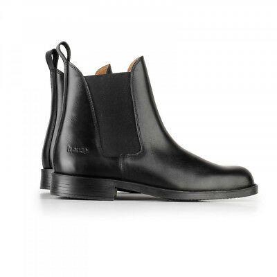 Horze Classic Pull-On Jodhpur Riding Boots with Elastic Sides