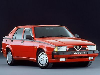 Manuale Officina Alfa Romeo 75 My 1985 - 1993 Workshop Manual Service Email