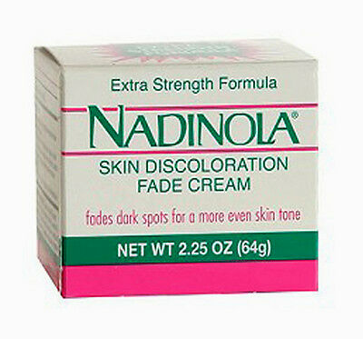 Nadinola Skin Discoloration Fade Cream Extra Strength Formula 2.25oz