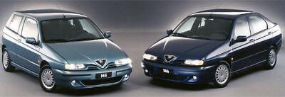 Manuale Officina Alfa Romeo 145 - 146 My 1995 - 2001 Workshop Manual Service Ema