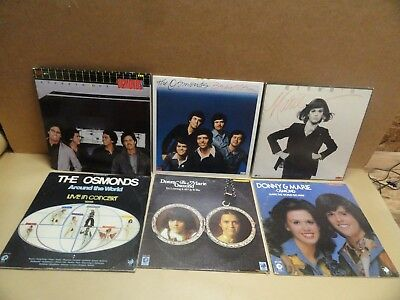 Osmonds 6 vintage records with BONUS STYX album LOW $$