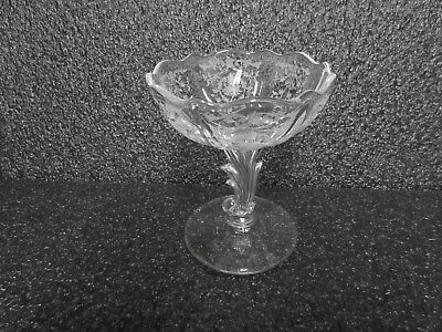 "Navarre 5"" Footed Jelly / Fostoria Glass Co."