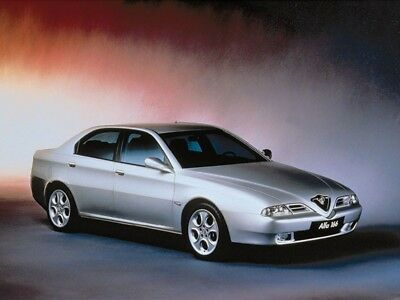Manuale Officina Alfa Romeo 166 My 1998 - 2007 Workshop Manual Service Email