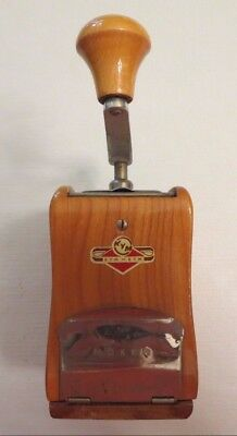 Vintage Antique Kym Mokka Wooden Coffee Bean Grinder - Made in W. Germany