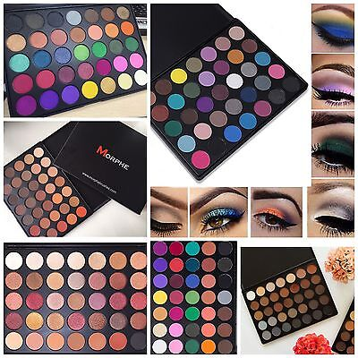 Morphe Brushes 35F❤️35O,35OS,❤️35T,35W,35A,35B,35K Eyeshadow 35 Colours Palette