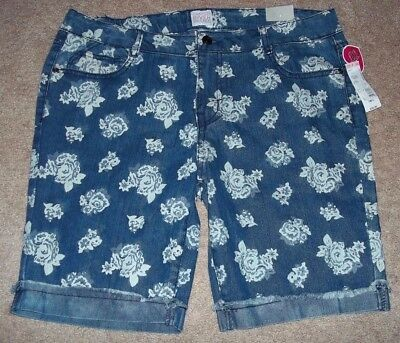 Canyon River Blues Jean Shorts Size 18 1/2 (kids) Blue Waist 34 New with Tags