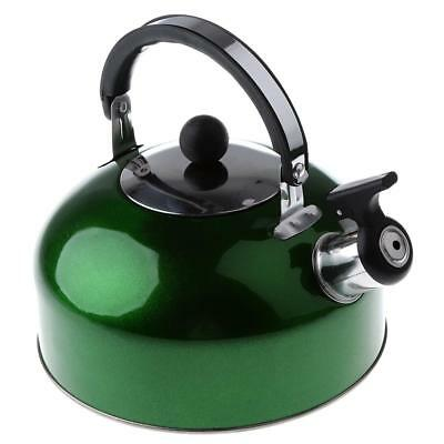 Whistling Kettle 3L Stainless Steel Camping Fishing Kitchen Coffee Water Pot