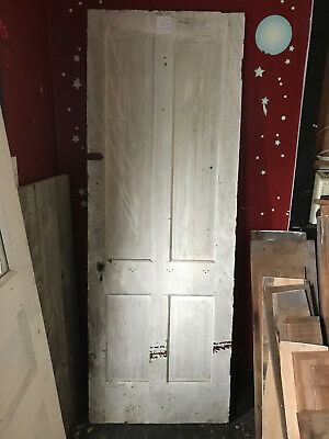 "Antique Wood Door 77 3/8"" x 27 3/4"""
