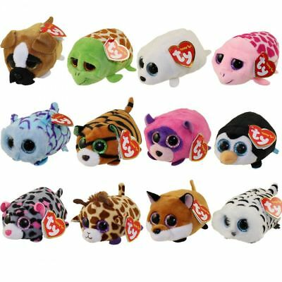 TY Beanie Boos - Teeny Tys Stackable Plush - SET OF 12 (4 inch) - New with Tags