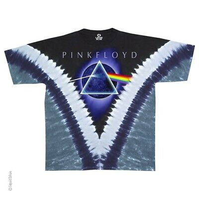 New PINK FLOYD Dark Side of the Moon Tie Dye T Shirt