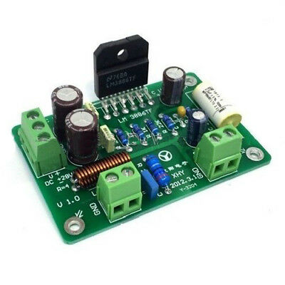 HiFi LM3886TF Mono 68W 4Ω Audio Power Amplifier Board AMP 50W/38W 8Ω Q5B5