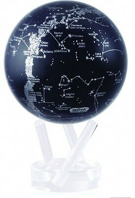 "MOVA Globe- stars and Constellations - 11.5 cm/ 4.5"" - self rotating sphere"