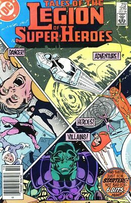 Legion of Super-Heroes (1980 2nd Series) #316 VF