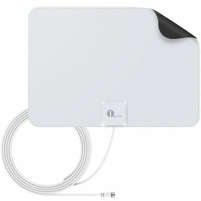 High Gain Freeview HD Digital TV Antenna Indoor Portable HDTV Antenna 20FT Cable
