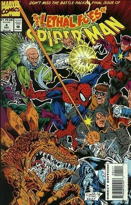Lethal Foes of Spider-Man (1993) #4 VG LOW GRADE