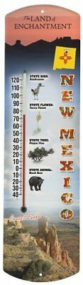 Heritage America by MORCO 375NM New Mexico Outdoor or Indoor Thermometer